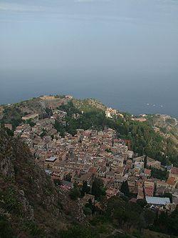 Taormina- linn, kus filminti