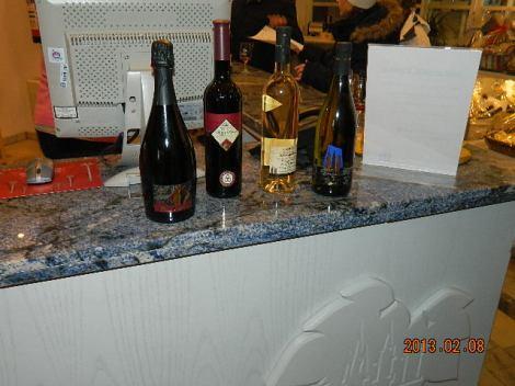 Meie saagiks oli seekord punane Pinot Sekt, 2003 aasta Spätburgunder, Riesling ja valge Pinot Noir :)