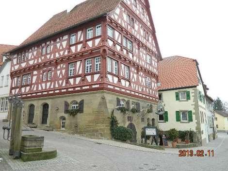 Selles majas on tore restoran Wirtskeller Sankt Georg
