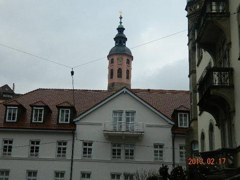 Rathaus paistab taamal