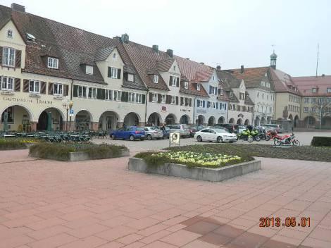Kirikuplats Freudenstadtis