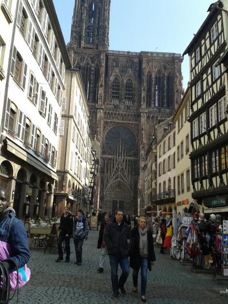 vaade Stasbourgi katedraalile