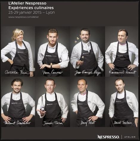 Nespresso Chefs Sirha 2015