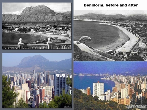 benidorm before and after Beautiful Environmental damage in Spain ppt video online